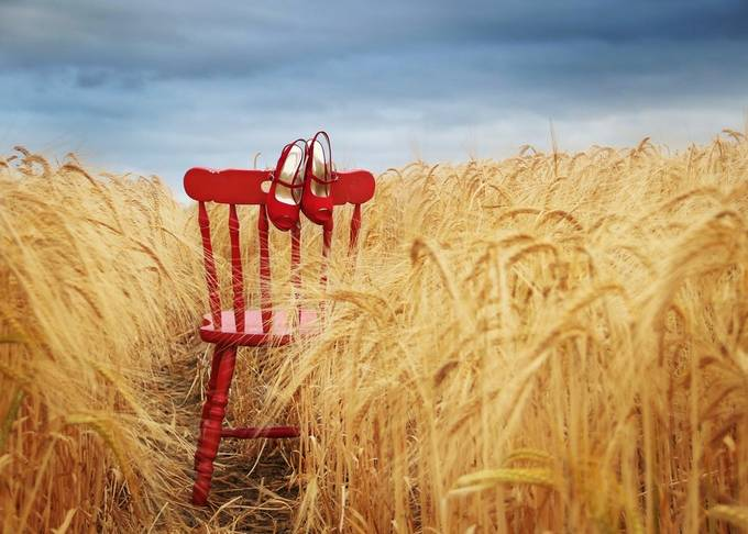 The red chair story by daliaa - Creative Reality Photo Contest