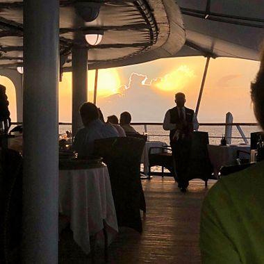 Sunsets in the Mediterranean!