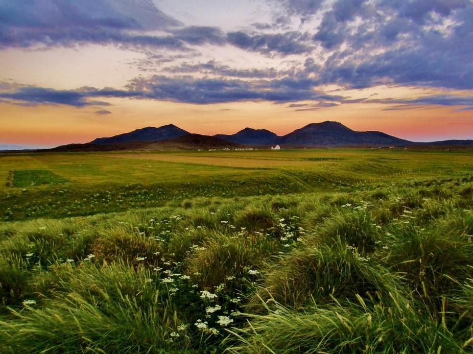 Uist Mountain Sunset