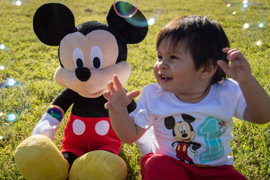 bubbles and mickey