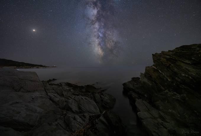 Starry sky by MaryMarino - Capture The Milky Way Photo Contest