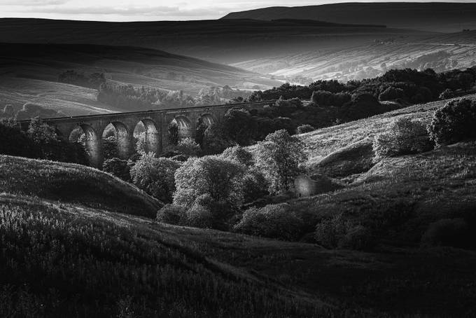 Dent Viaduct by johntombling - Our World In Black And White Photo Contest