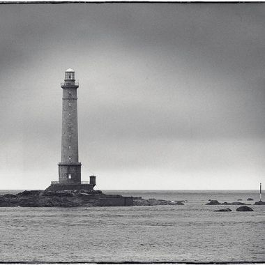 Taken in 2001, this was a remarkable moment on the northernmost tip of France. A wet and foggy day gave me just a ten minute window for the lighthouse 6x12 with Toyo field