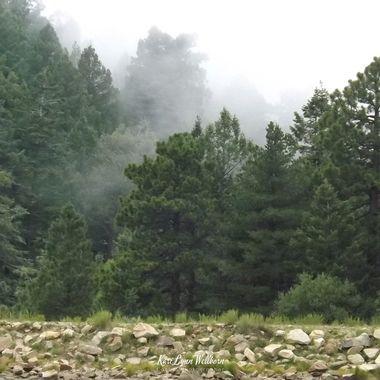 clouds at Riggs Lake