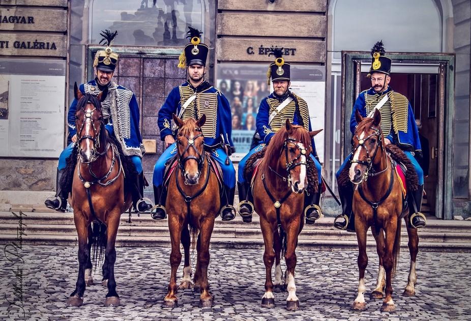 Horse men