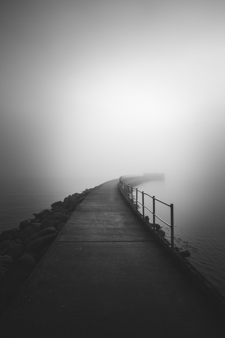 The end by Brian_Lichtenstein - Our World In Black And White Photo Contest