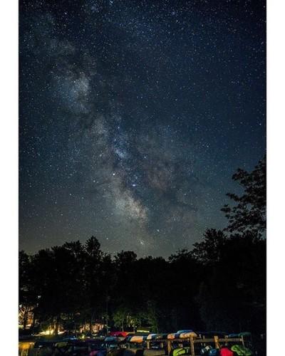 Good night shot from Lake Ariel Pennsylvania. • • • Sony A7III - - #folkscenery #naturephotography #sonya7iii #photographerlife #folksouls #sonyimages #milkyway #longexposure #travelblog #beautifulnature #landscape_captures #landscapephotography #visualsc