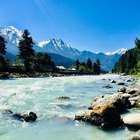 During the stay in Pahalgam, this stream is near the place where I was staying. The sounds of water in midst of silence in the mountain is only m...