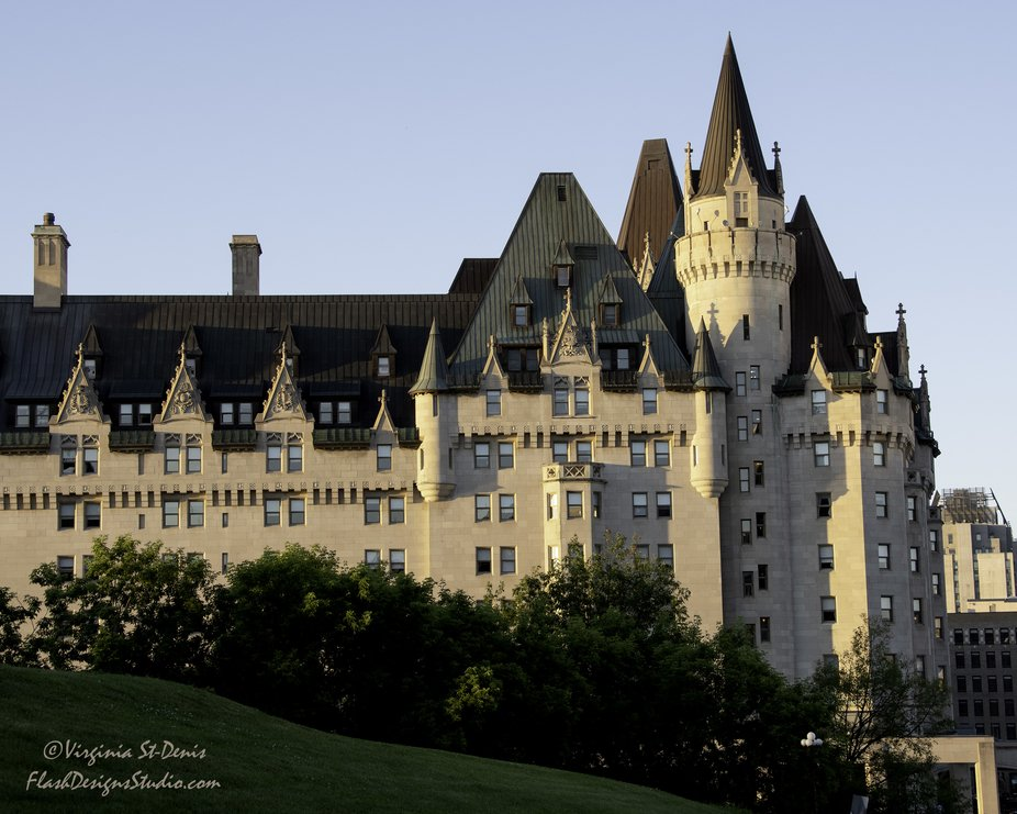 Chateau Laurier in downtown Ottawa, Ontario, Canada