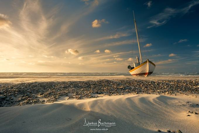 Sunset down by the beach by Markus_Bachmann_Fotos - We Love The Summer Photo Contest