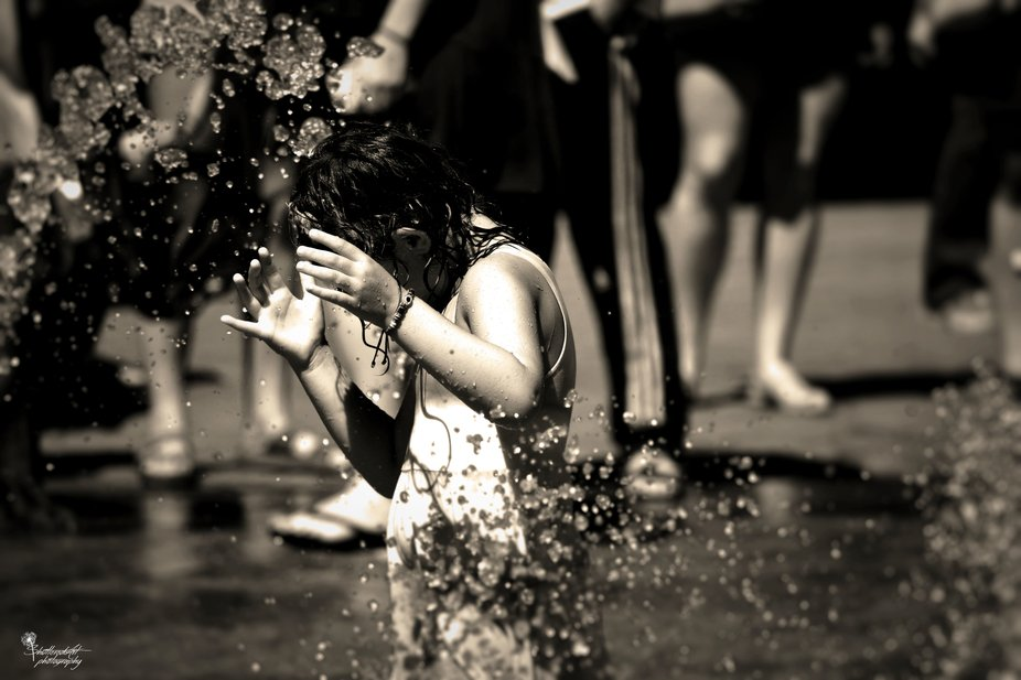 Girl in a Fountain