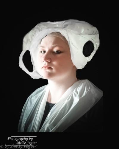 """Hendrik Kerstens, """"Bags"""" Ecological Comment Reproduction Portrait"""