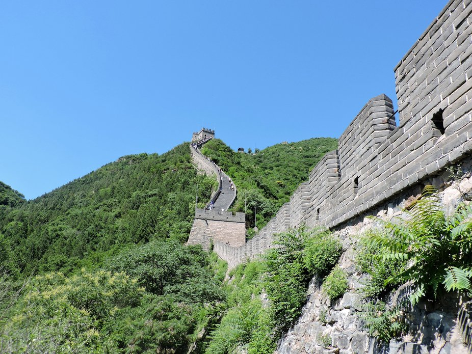 Muralla China desde el lateral