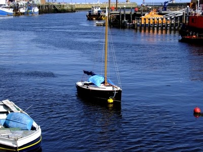 Whitby, River Esk, Yacht, I