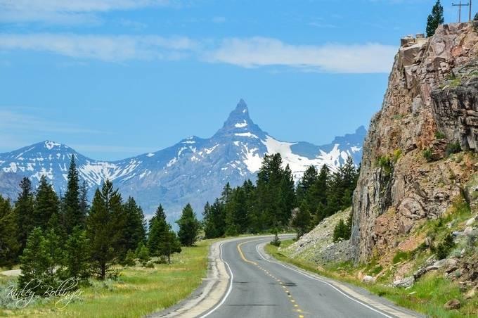This is one of my favorite peaks in Wyoming.