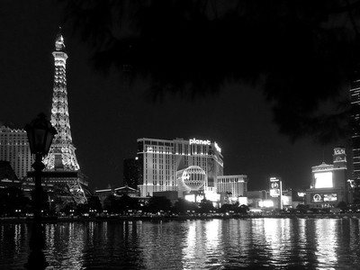 What happens in Vegas - BW