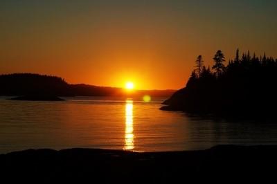 Sunset At Blacks Harbour