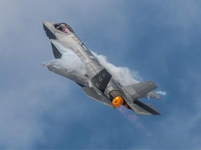 14-7-18 - RIAT - RAF Fairford USA - Air Force Lockheed Martin F-35A Lightning II - 5125