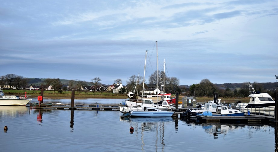 Kirkcudbright Harbour and Leisure Boats