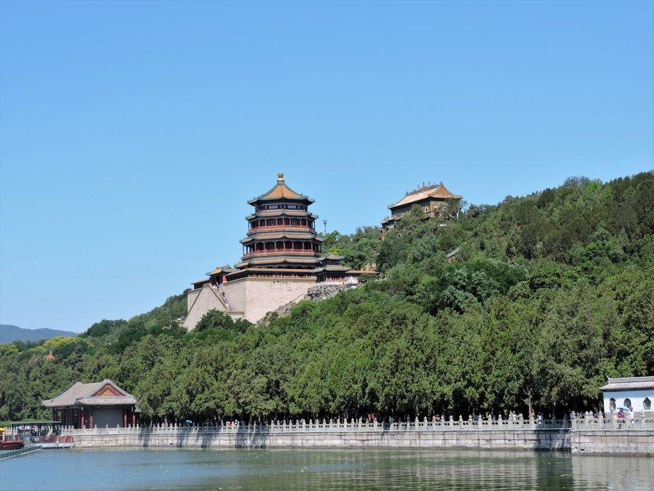 Palacio imperial en el jardin de verano, Pekin, China