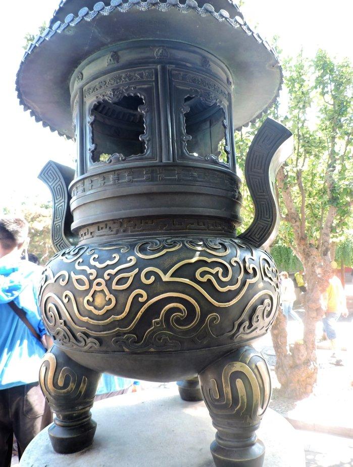 Artefacto en el jardin de verano, Pekin, China
