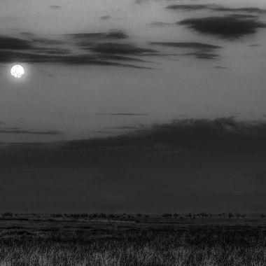 Moon over Mara