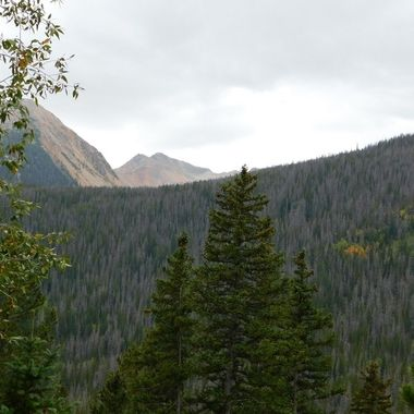 Peak in Rocky Mountain National Park