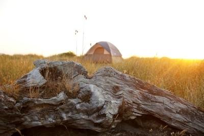 California Camp Sunset