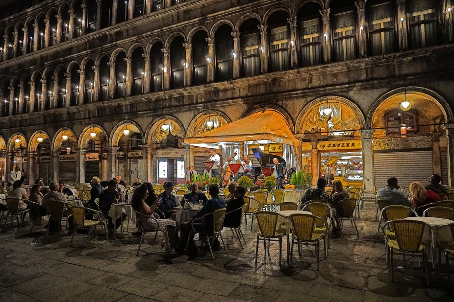Evening On Piazza San Marco, Venice