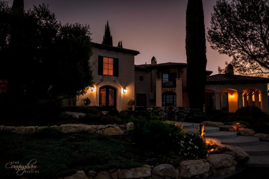Sunrise at The Canyon Villa in Paso Robles