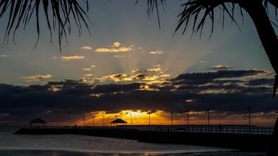 Sunrise Over Moreton Bay