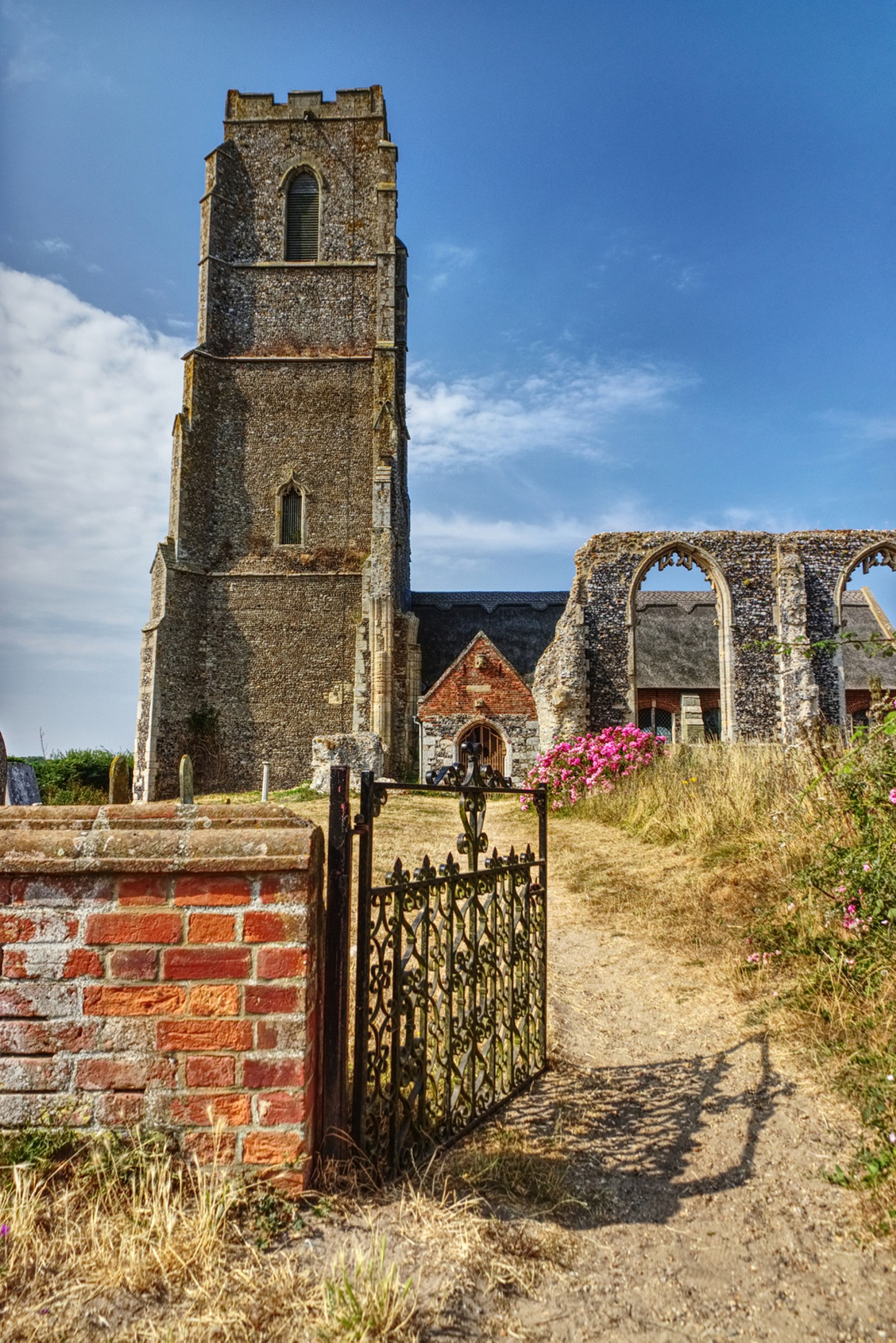St Andrew's Church, Covehithe, Suffolk