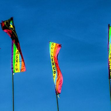 Roller Coaster Flags