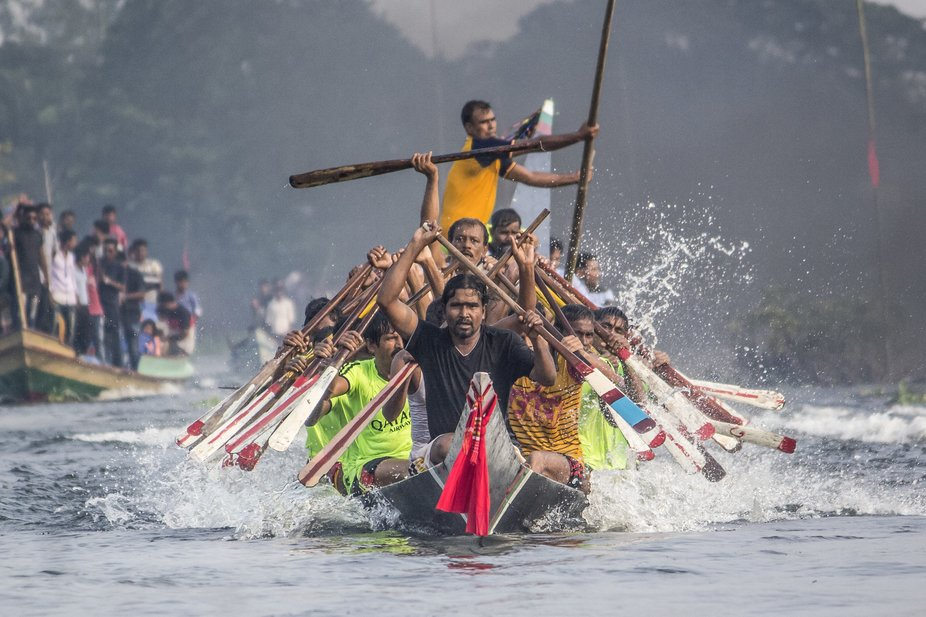 The boat race in the riverine country is a part of the folk culture of Bengal. But, when the boat...