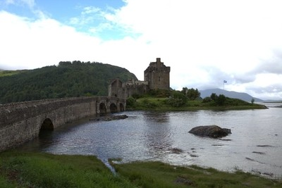 Castle at Lock Ness