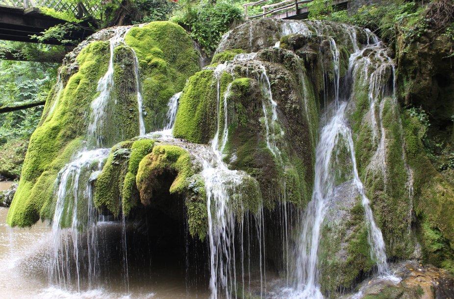 Bigăr Waterfall in Romania