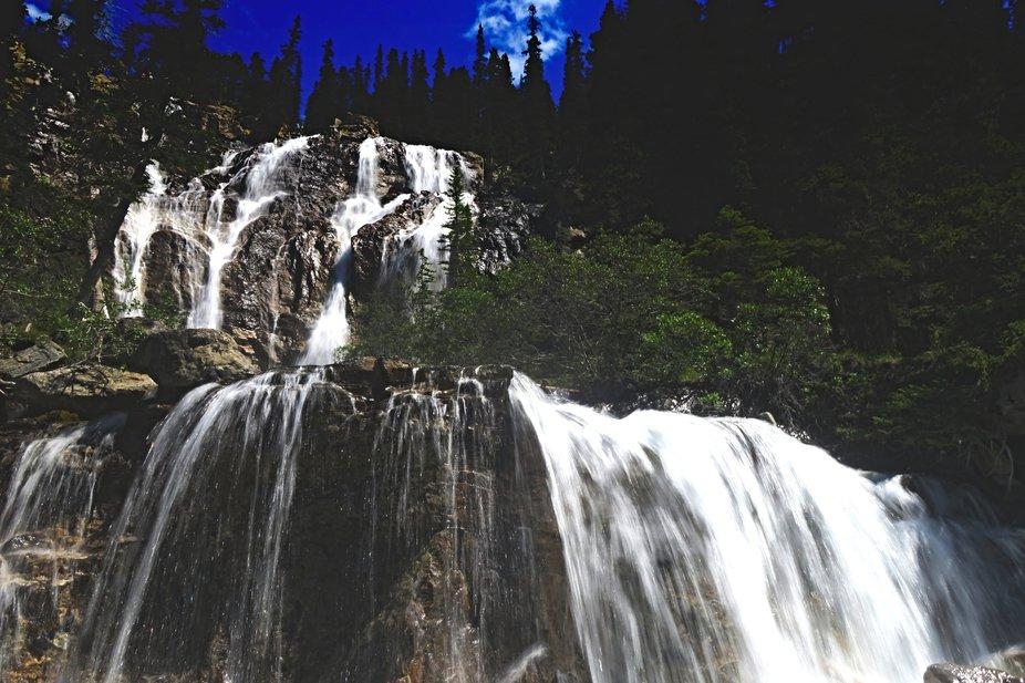 Tangle Falls, Jasper, AB, Canada