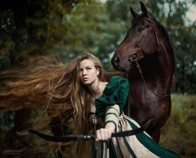 Bohemian Brave... by MarketaNovak - Fantasy In Color Photo Contest
