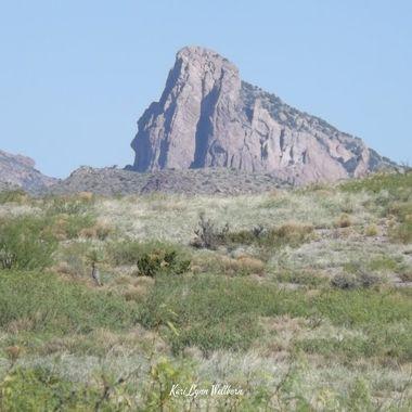 Steeple Rock  east face