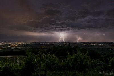 Storm at Haloze, Slovenia