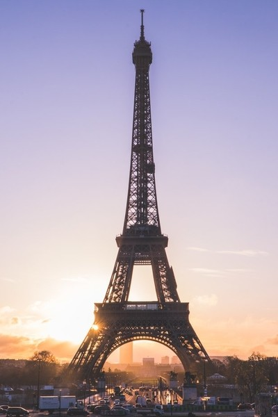 Paris Winter Sunrise