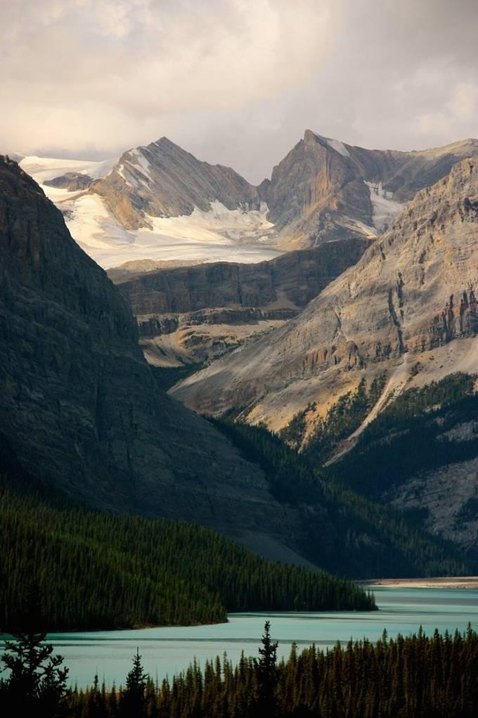 Lake Loraine in Canada