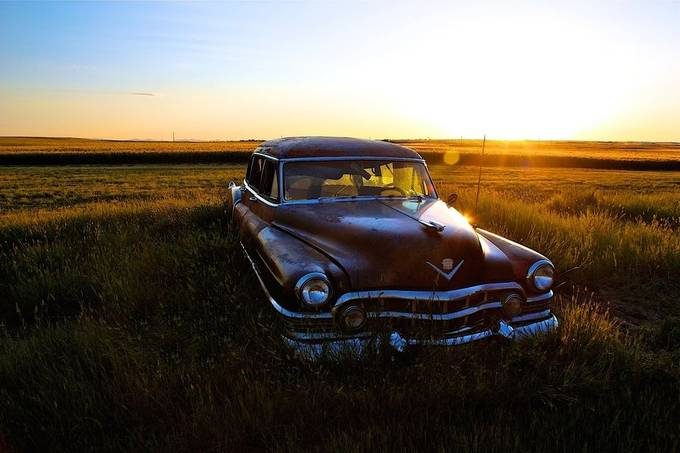 My grandpa in law retired as a wheat farmer and spent the rest of his day rebuilding old cars.  Sadly, he didn't get to fix up the Cadillac limousine.