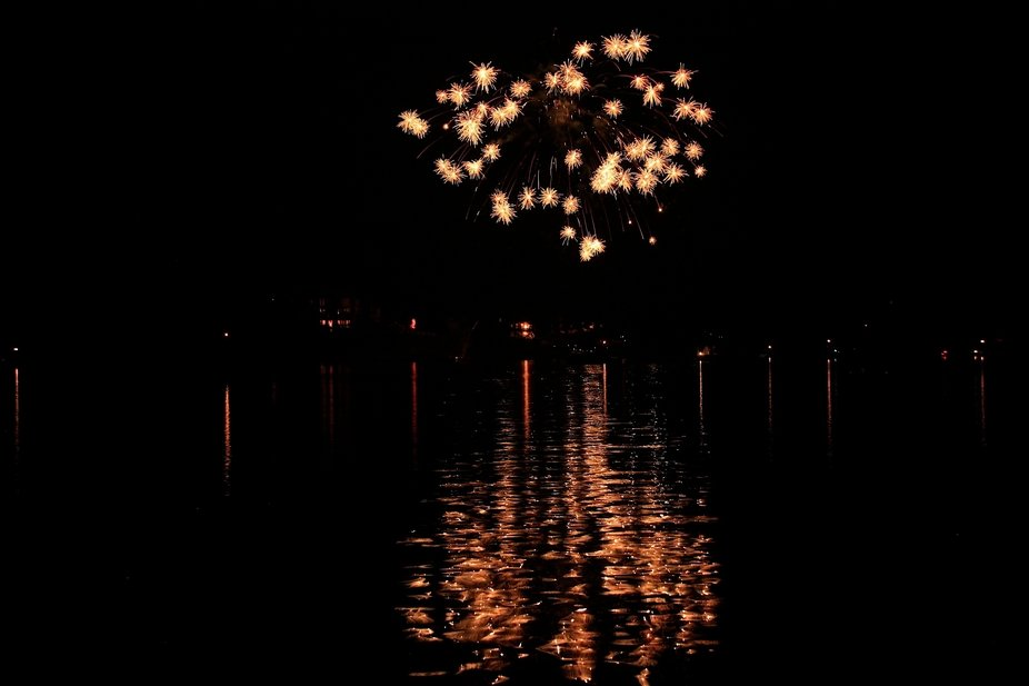 Fireworks on TN, River