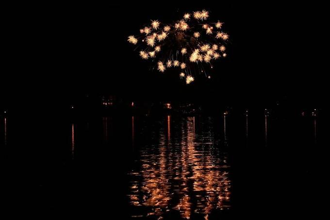 Fireworks on TN, River