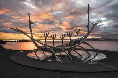 Sólfarið - Sólfar - Sun Voyager Sculpture