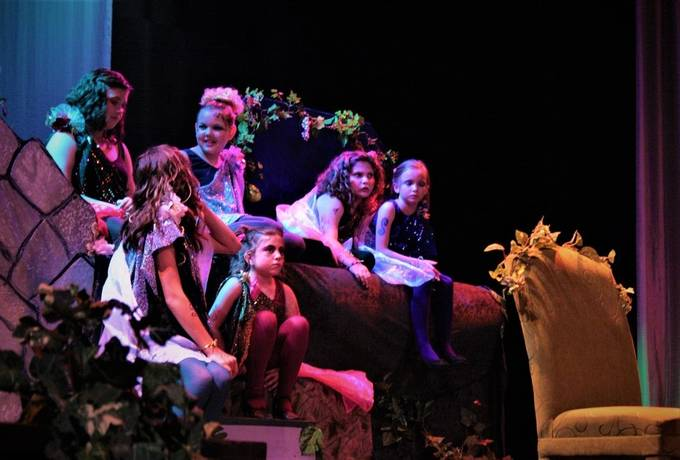 I was doing music for this production, and had an opportunity to get these  fairies in performance.