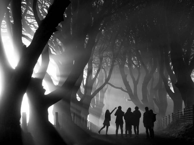 Children Sabie by ambertrudi - Our World In Black And White Photo Contest