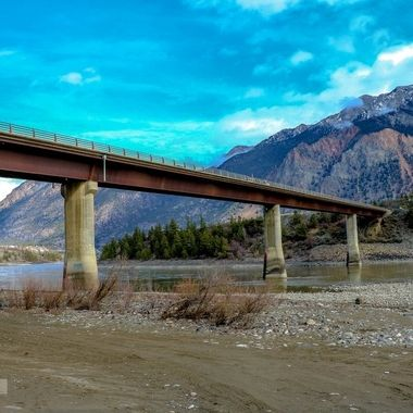 Bridge over the Fraser River at Lillooet