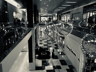 I took this picture at the westfield mall